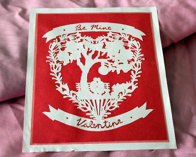 Paper Cutter Valentine