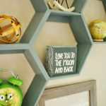 Painted Wooden Block Sign
