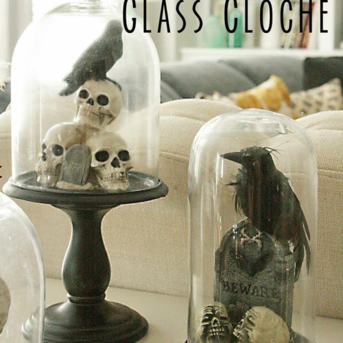DIY: Halloween Glass Cloche