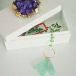 Crystal-Top Jewelry Box