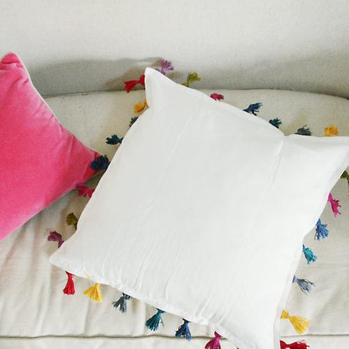 DIY Tassel Pillow