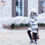 Boho Casual Winter Coat