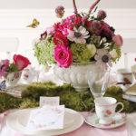 Indoor Garden Tea Party for a Shower