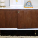Before + After: Lacquer Mid-Century Modern Credenza Makeover