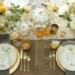 Chic Thanksgiving Table + Free Printable