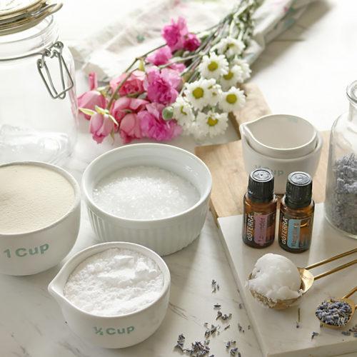 Milk Bath Recipe for Dry Skin
