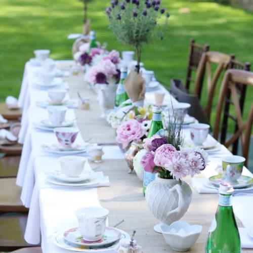 Mother's Day Garden Tea Party