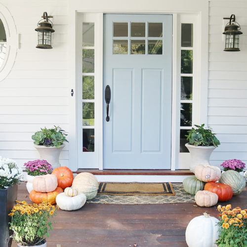 5 Easy Fall Porch Ideas