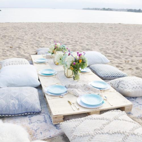 Birthday Beach Dinner