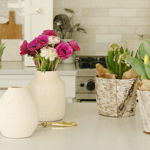 Indoor Styling with Spring Flowers