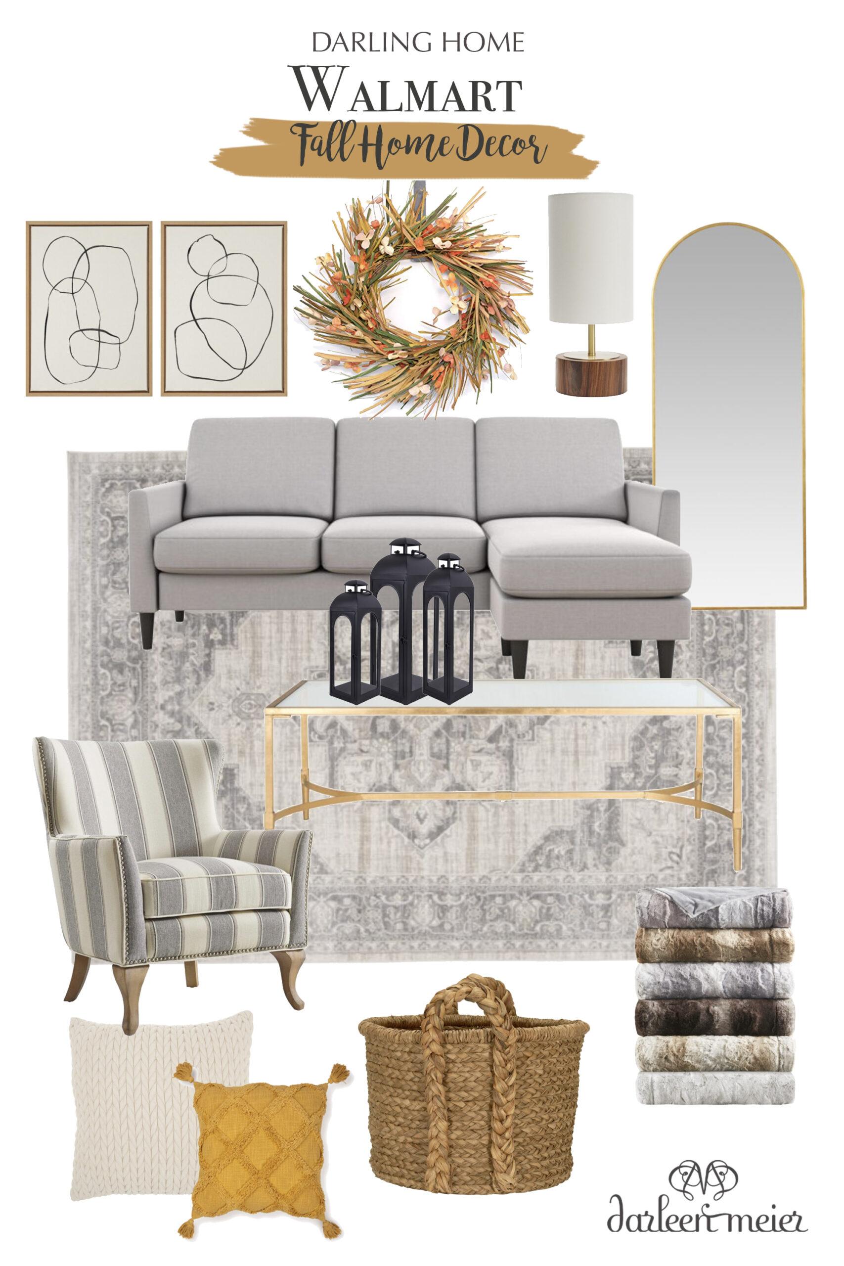 Budget-friendly fall home decor, Walmart fall home decor, Walmart home | Darling Darleen Top Lifestyle Blogger